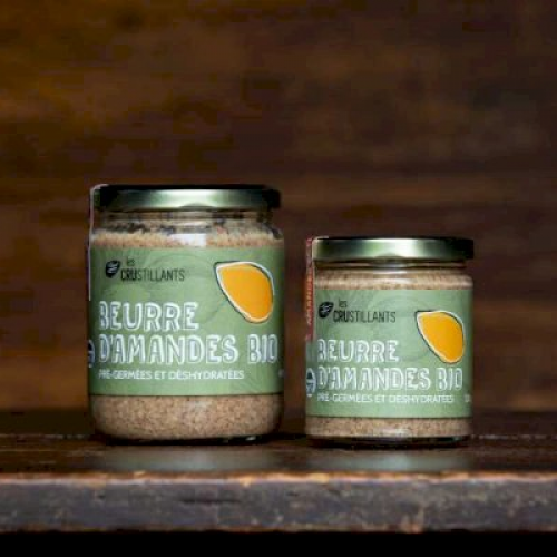 Organic activated almond butter