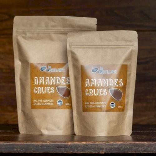 Organic Activated European Almonds